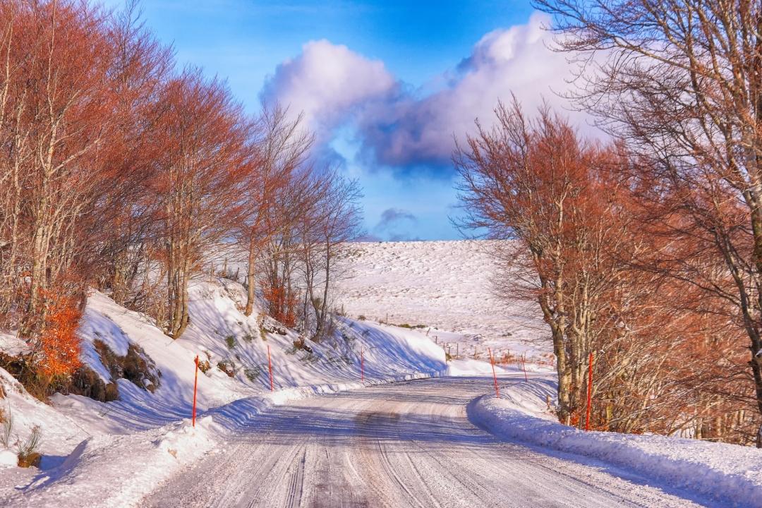 LG-SB Photographie @photographeamontpellier  nature et paysage paysage enneigé Ardèche 1