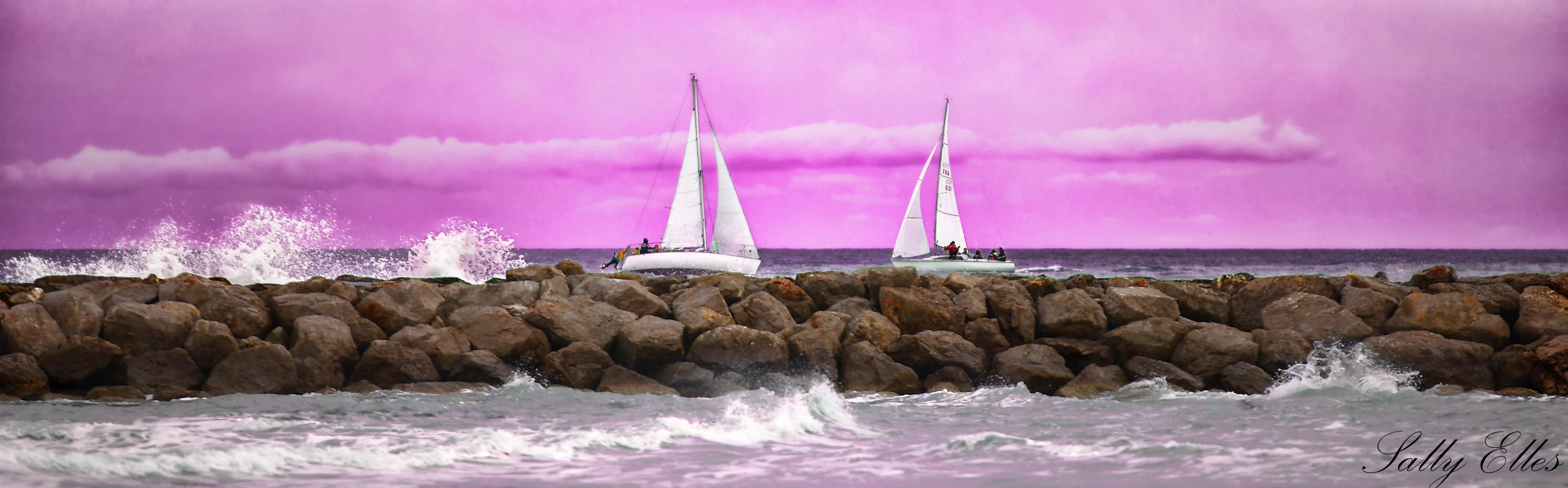 Photo de voiliers, photo de voile, photo de bord de mer, photo de paysage à Montpellier - Photographe à Montpellier