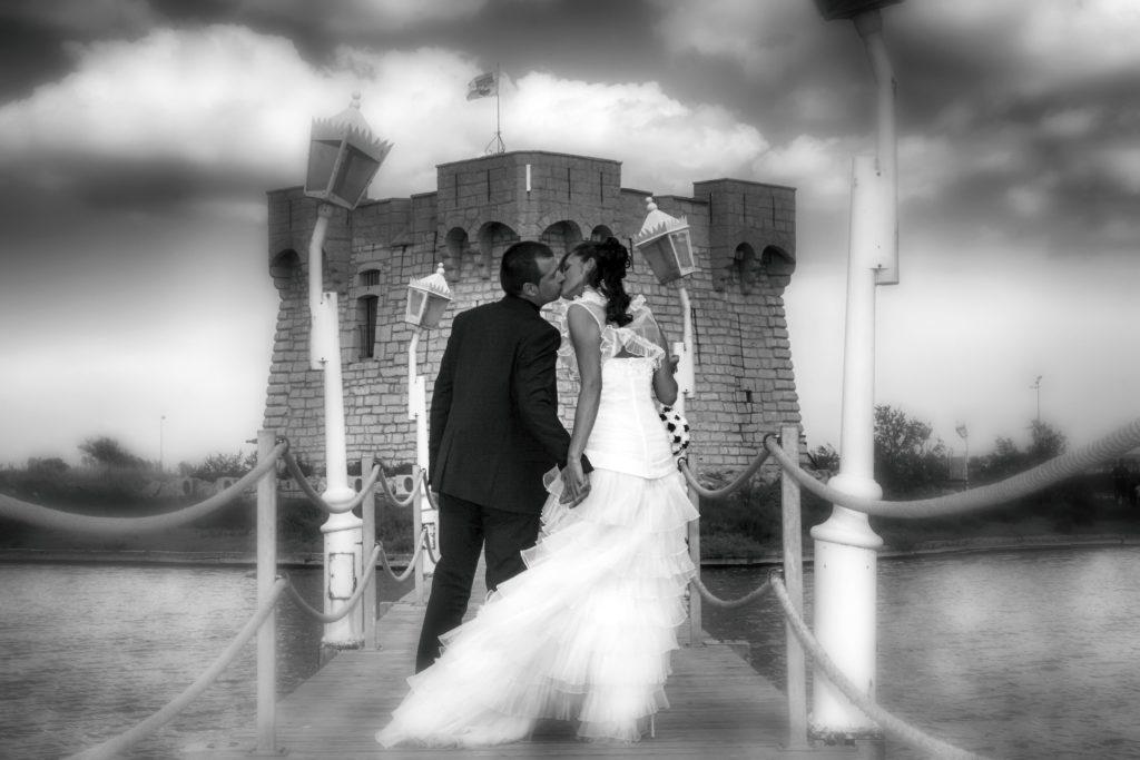Photo de mariage à Montpellier, photo de couple, photo de mariés - Photographe à Montpellier