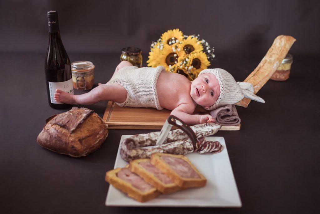 Photo de naissance à Montpellier, shooting photo de naissance, photo bébé, photo nouveau né - Photographe à Montpellier