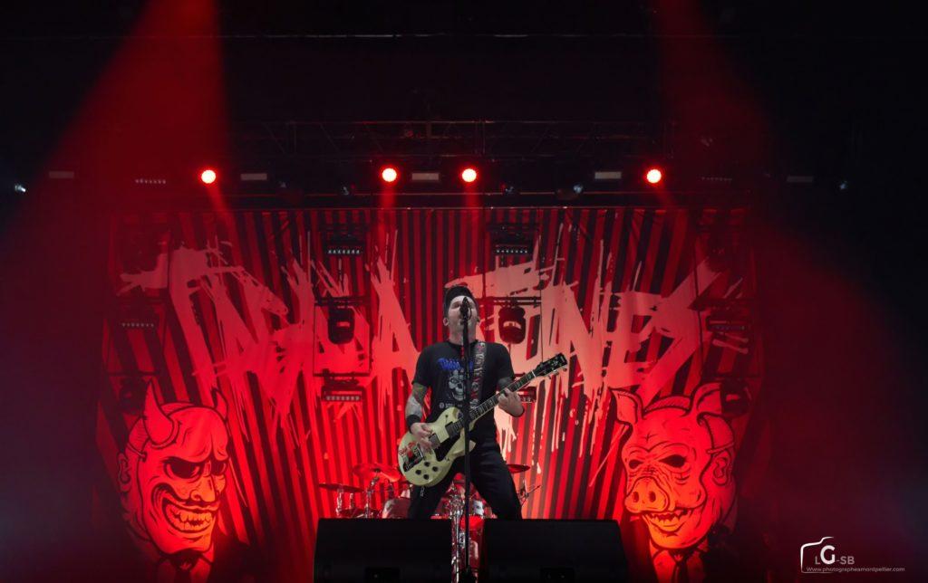 Photo de spectacle à Montpellier, photo de concert, photo Tagada Jones - Photographe à Montpellier