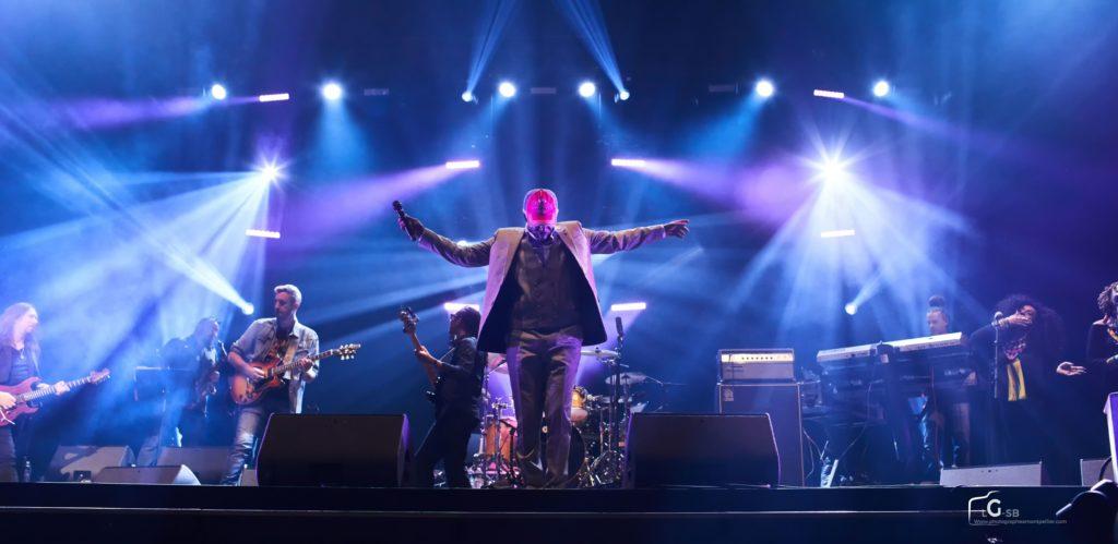 Photo de spectacle à Montpellier, photo de concert, photo Alpha Blondy - Photographe à Montpellier